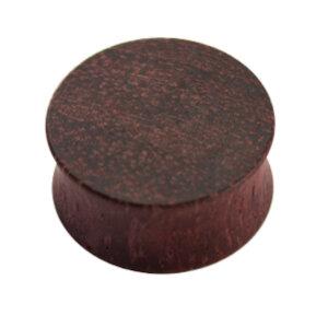 Holz - Plug - Lilabraun - Amaranth Wood