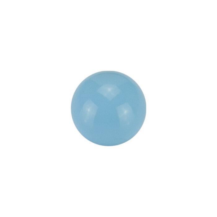 Stahl - Schraubkugel - Pastell blau - Supernova Concept