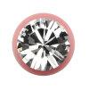 Stahl - Schraubkugel - pink - Kristall - SWAROVSKI - Supernova Concept