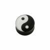 Acryl - Plug - konkav - Yin & Yang
