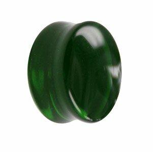 Glas - Plug - grün