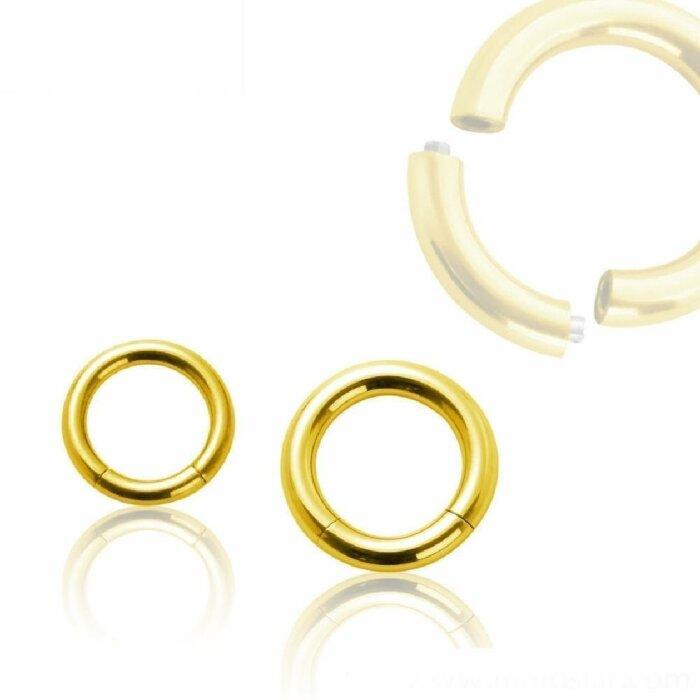 Gold Steel - Segmentring