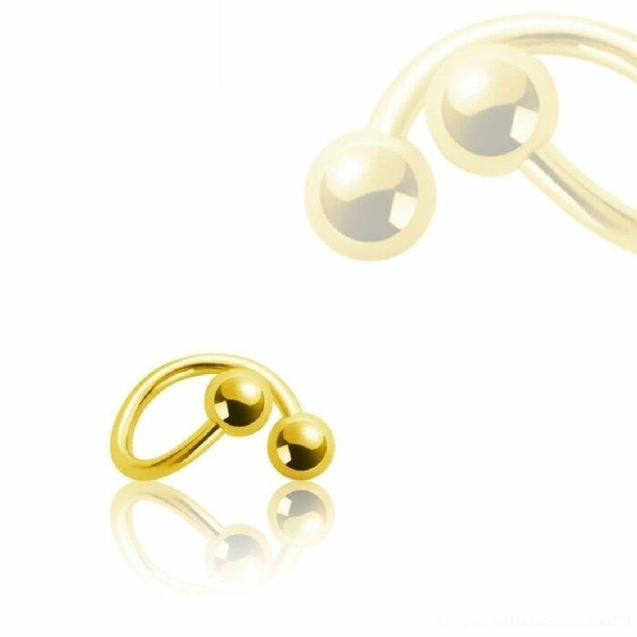 Gold Steel - Spirale