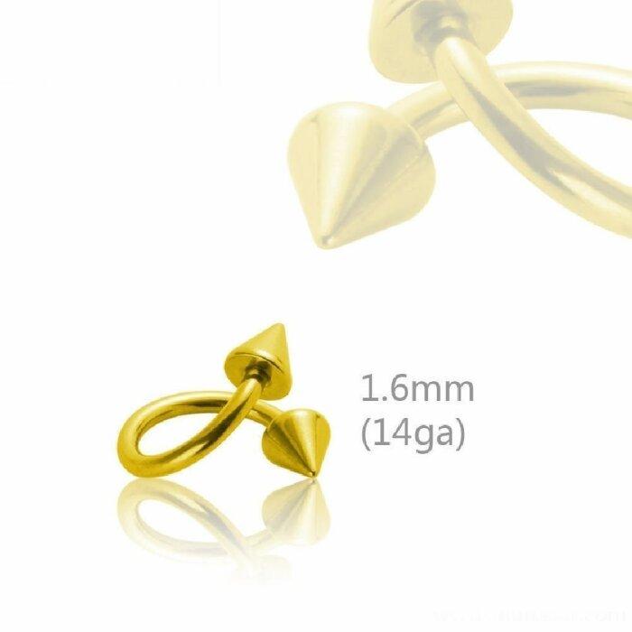 Gold Steel - Spirale - Spitzen