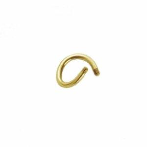 Gold Steel - Spirale - ohne Kugeln