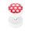 Stahl - Fake Plug - Polka Dots - Rot-Weiß - Supernova Concept