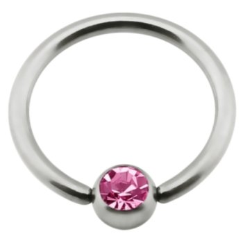 Titan - Nipple Ring - Pink (PK)