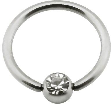 Titan - Nipple Ring - Kristallklar (CC)