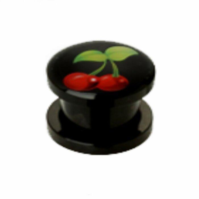 Acryl - Plug - Kirsche