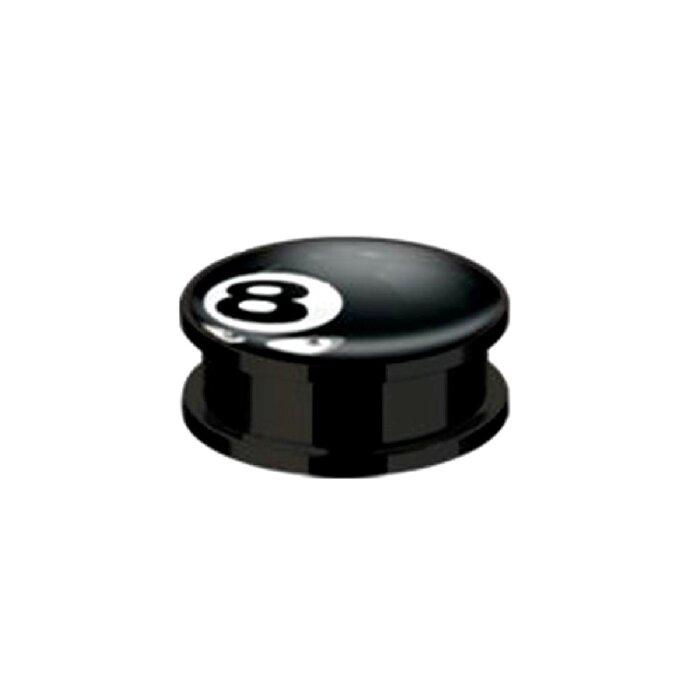 Acryl - Plug - 8 Ball