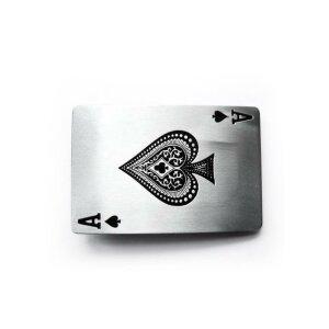 Gürtelschnalle - Pik Ass - Ace of Spades - Buckle