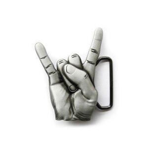 Gürtelschnalle - Rockn Roll - Lets Rock - Buckle