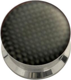 Stahl - Tunnel - schwarz - Carbon Design - Epoxy