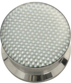 Stahl - Tunnel - silber - Carbon Design - Epoxy
