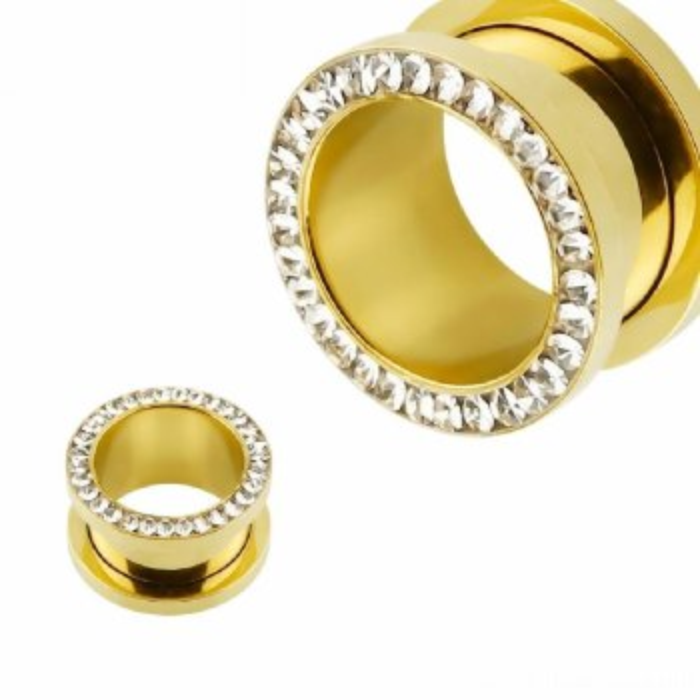 Gold Steel - Tunnel - Kristall - Epoxy