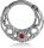 Stahl - Septum Clicker - Ornament Design