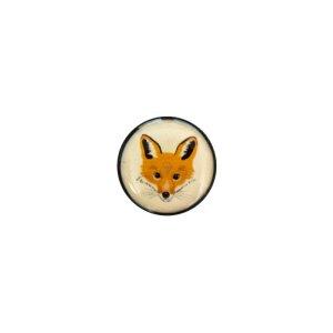 Acrylic plug - fox face - 1 pair