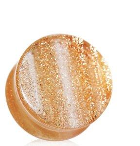 Glas Plug - Golden Sand Optic