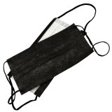 Face mask with elastic band - Baideren - black