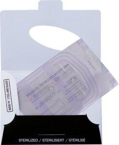Anti Wildfleisch Piercing-Disc transparent - Steril