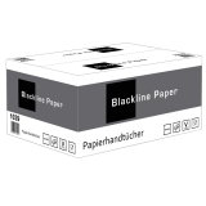 Paper towels 2 ply - black - 160 pieces - Blackline
